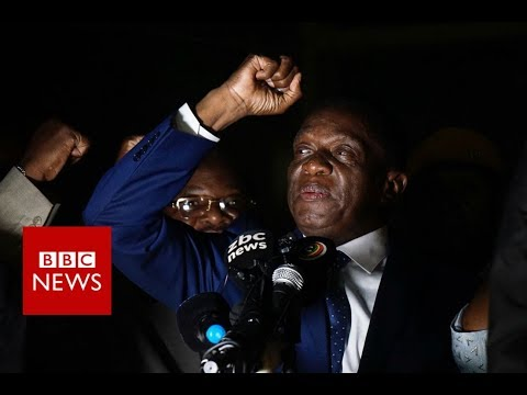 Zimbabwe's Mnangagwa: I was going to be eliminated - BBC News
