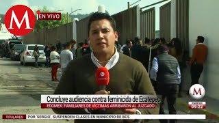Vinculan a proceso a presunto feminicida de Ecatepec