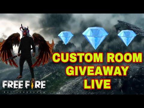 Free fire live diamond giveaway || DJ Alok + diamond custom giveaway || play with poco x2