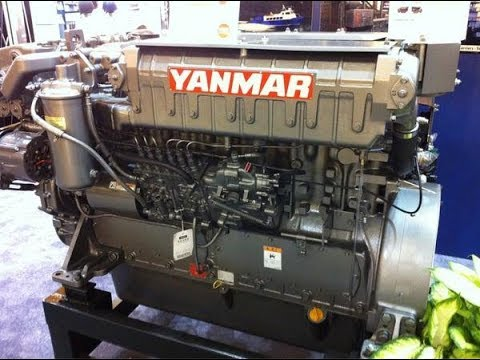 YANMAR DIESEL ENGINE 650HP, 6HYM-WET