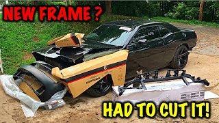 Rebuilding A Wrecked 2017 Dodge Hellcat Part 2