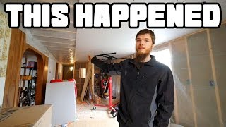 Renovation Overload   Why we Install a Vapor Barrier on the Ceiling   Home Renovation #59