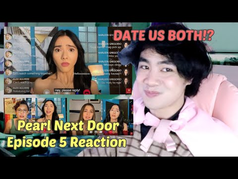 (DATE US BOTH!?) Pearl Next Door Episode 5 Reaction/Commentary | POLYAMORY??