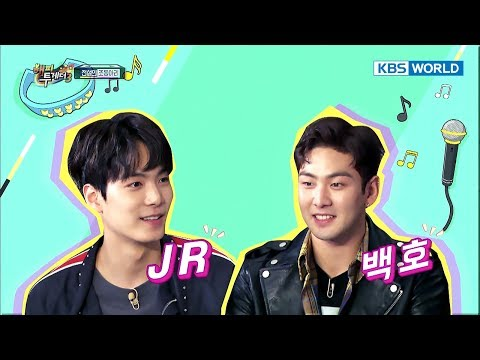 Icon of chart climber NU'EST W is on 'Happy Together' [Happy Together / 2017.10.19] (видео)