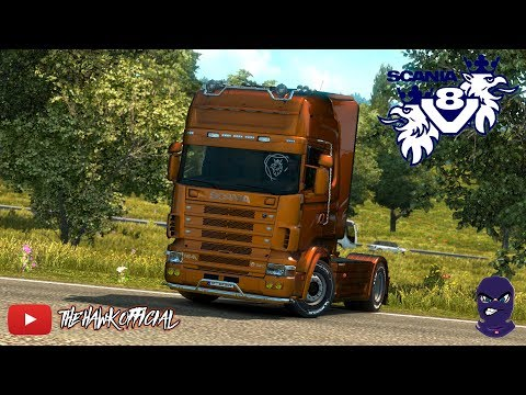 Open Pipe V8 Sound for Scania 4 Series RJL v1.0