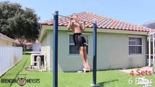【超ハイレベル】鉄棒を使った自重トレーニング7種目!【強靭な肉体】