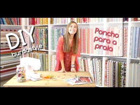 DIY - Poncho burdastyle