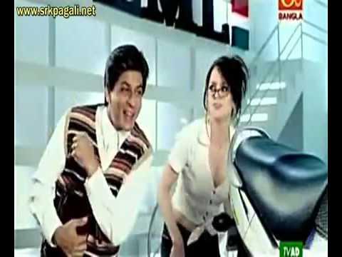 Shah Rukh Khan, LML Motorcycles Ad - Mein Hoon Na Style!
