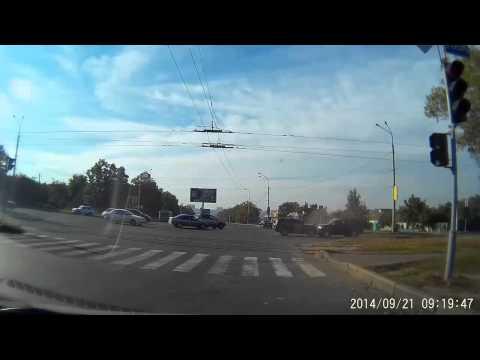 Лобовое столкновение в Харькове