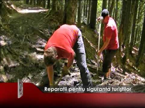 Reparații pentru siguranța turiștilor