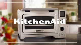 The KitchenAid® Digital Countertop Convection Oven delivers full-size oven performance from the convenience of your countertop. You can bake, broil, roast, o...