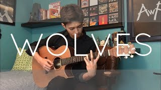 Video Wolves - Selena Gomez, Marshmello - Cover (Fingerstyle Guitar) MP3, 3GP, MP4, WEBM, AVI, FLV Agustus 2018