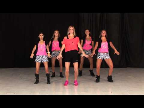 Coreografía de Sube Las Manos Pa Arriba de Pitbull (Paso a Paso) / TKM