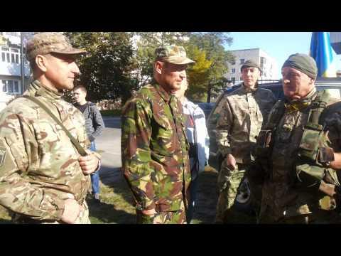 Батальйон Світязь і Правий сектор м.Ковель.