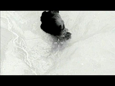 Δεκάδες τζιχαντιστές νεκροί από τη «μητέρα όλων των βομβών»