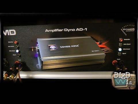Sonido Mask ZX-1500.1 Amp Dyno Test 1 Ohm