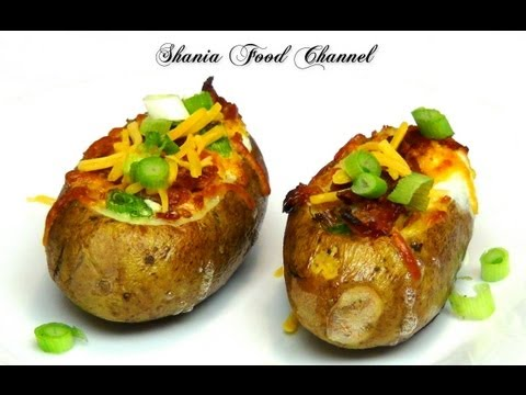 How To Make Eggs Stuffed Baked Potatoes Recipes