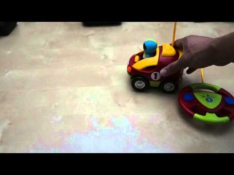 RC Cartoon Race Car Toy Review