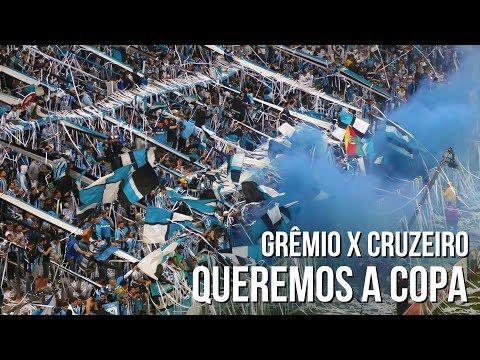 Queremos a Copa - Grêmio x Cruzeiro - Copa do Brasil 2017 - Geral do Grêmio - Grêmio - Brasil - América del Sur
