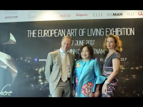 Vietnam international fashion week in EuroSphere press conference