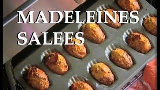 Les Recettes De Julie Andrieu : Madeleines Salées.