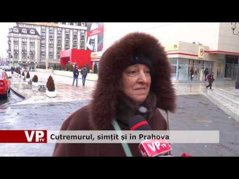 Cutremurul, simțit și în Prahova