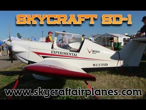 Skycraft SD 1 MiniSport light sport aircraft from Skycraft Airplanes.