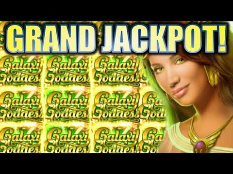 ★GRAND JACKPOT WINNER!! OMG!!★ GALAXY GODDESS (AUSTRINA) MASSIVE BIG WIN! Slot Machine (Aristocrat)