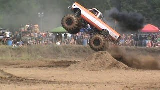 Jordan Healey from RCX Offroad in Canada  in his Awesome Chevy Mega Truck