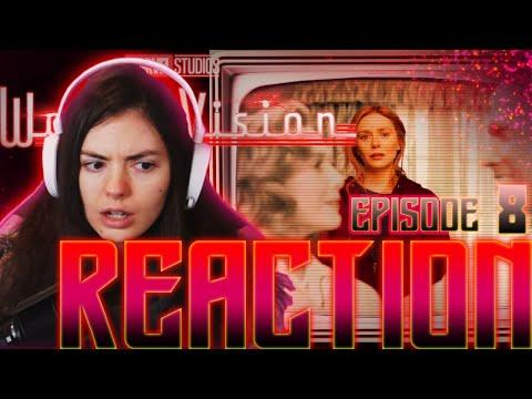 WandaVision! EPISODE 8 REACTION! || #WandaVision #Reaction #Marvel #MCU #DisneyPlus #Gaxelle #XMen