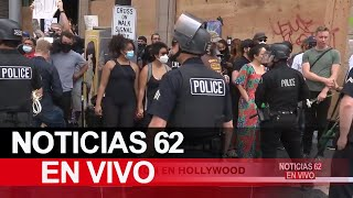 Miles protestaron en Hollywood – Noticias 62 - Thumbnail
