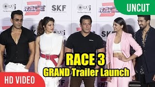 Video RACE 3 GRAND Trailer Launch | FULL HD Video | Salman Khan, Jacqueline, Bobby Deol MP3, 3GP, MP4, WEBM, AVI, FLV Agustus 2018