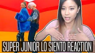 Video SUPER JUNIOR LO SIENTO (Feat. Leslie Grace) REACTION | Makes you want to dance MP3, 3GP, MP4, WEBM, AVI, FLV Juli 2018