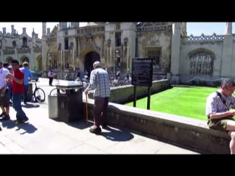 The Visiting The Eagle Pub And Punting In Cambridge, England