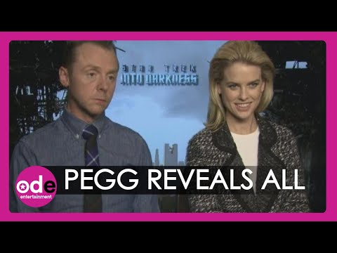 Benedict Cumberbatch - Subscribe to TheShowbiz411! http://bit.ly/tsb411yt Star Trek Into Darkness stars Simon Pegg & Alice Eve reveal the truth about Benedict Cumberbatch. When our...