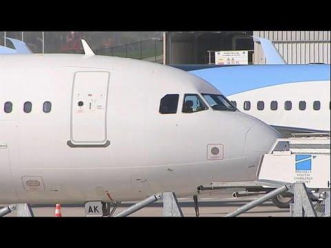 Kein Flugverkehr in Belgien wegen Generalstreik