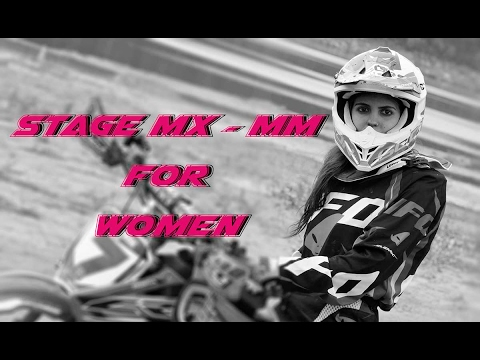 Motocross stage for Women