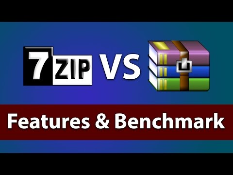 7Zip vs Winrar for Windows 10 | Features / Best ZIP Tool