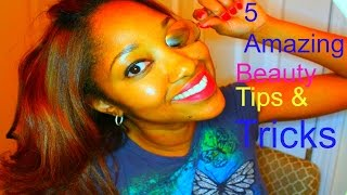 5 Amazing Beauty Tips & Tricks | How To - YouTube