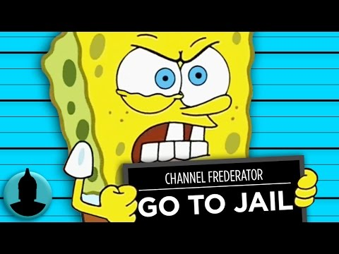 10 SpongeBob SquarePants Episodes That Would Get Him Locked Up - Ft. Vailskibum94 (Tooned Up S3 E38)