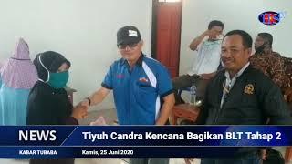 Tiyuh Candra Kencana Bagikan BLT Tahap 2 (HARIANSIBER TV)