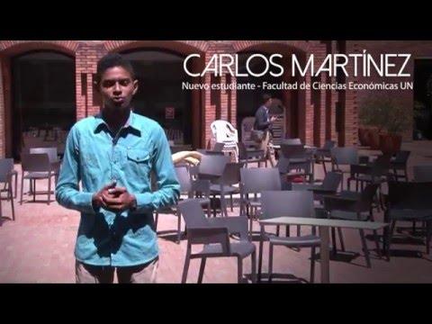 Quiero montar mi propia empresa, sacar a mi pueblo adelante- Carlos Martínez.