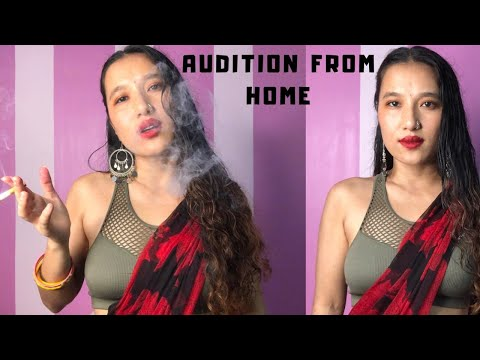 Recreating Bollywood movie CHAMELI Scene | Monologue Act - Sujata Gurung