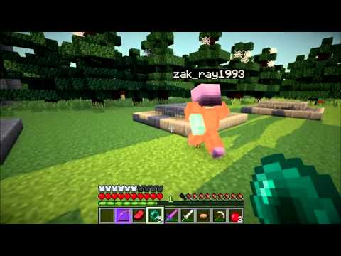 The Second Minecraft Hunger Games! Part 2 - Gang Fight! Video