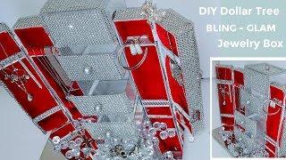DIY Dollar Tree BLING Jewelry Box