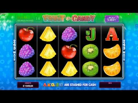 Fruit vs Candy Online Slot Promo