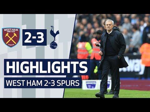 HIGHLIGHTS | WEST HAM 2-3 SPURS | Mourinho era starts with a win!