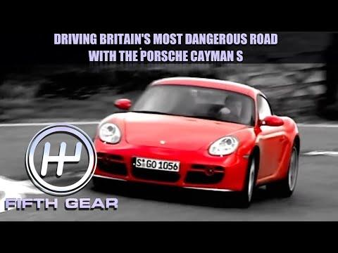 The Porsche Cayman S & Britain's most DANGEROUS road | Fifth Gear