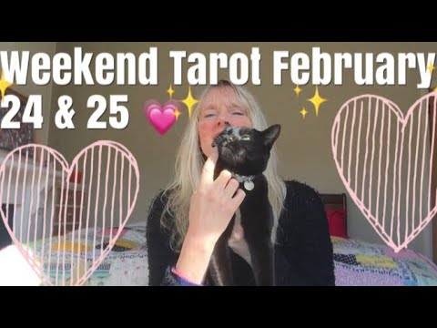 Love messages - Weekend Tarot Reading February 24 & 25, 2018  Sing Your Song