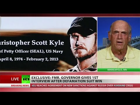 IN - A jury awarded former Minnesota Governor Jesse Ventura $1.8 million for a defamation suit he filed against Navy SEAL Chris Kyle. The SEAL, who was killed on a shooting range in February 2013,...